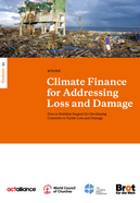 Climate Finance for Adressing Loss and Damage