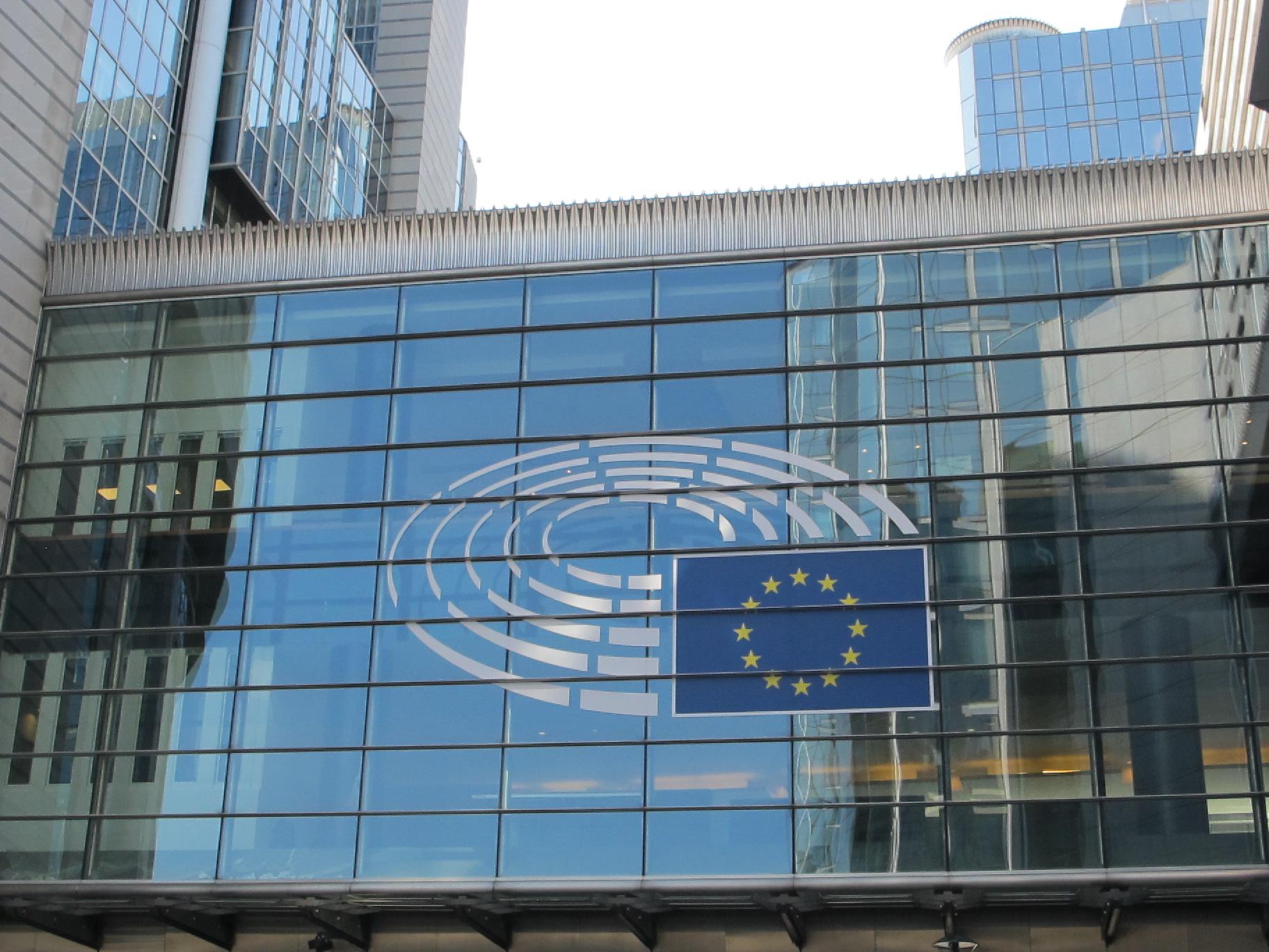 EU-Parlamentsgebäude in Brüssel