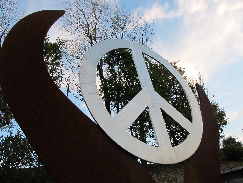 Friedenssymbol aus Rovereto (Italien)