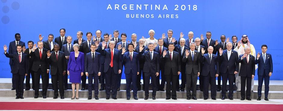 G20 Staatschefs in Argentinien