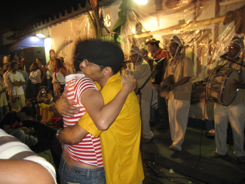 Straßenfest in São Paulo