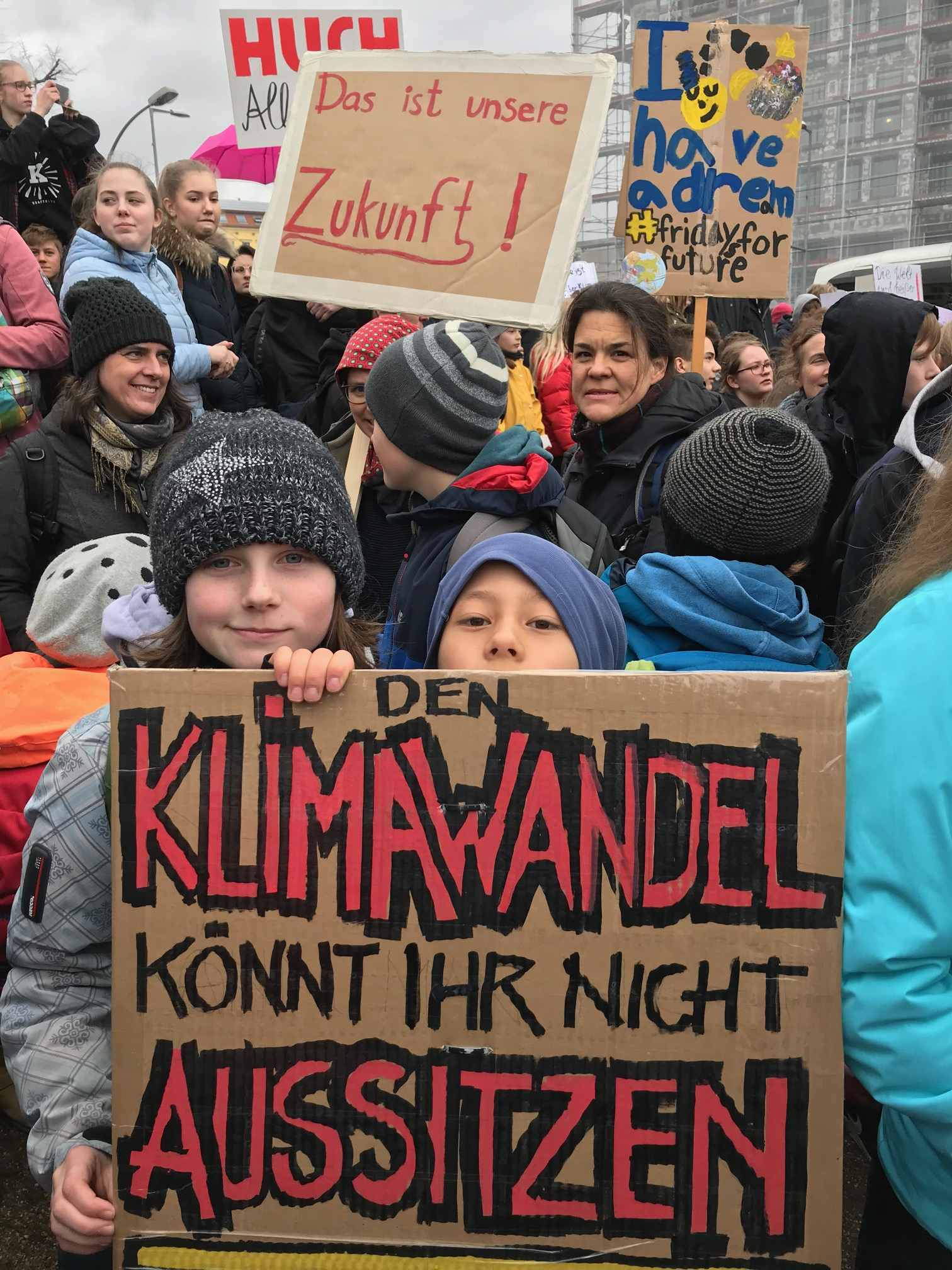 Fridays for Future in Berlin am 15.03.2019