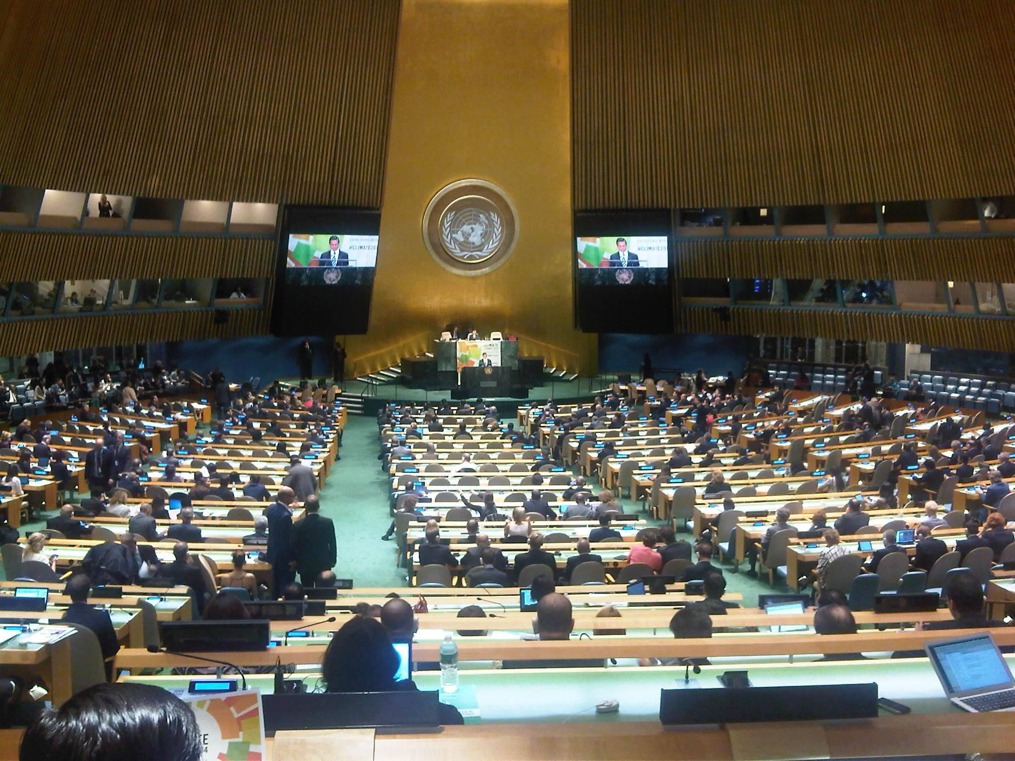 UN-Klimasondergipfel 2014 in NY