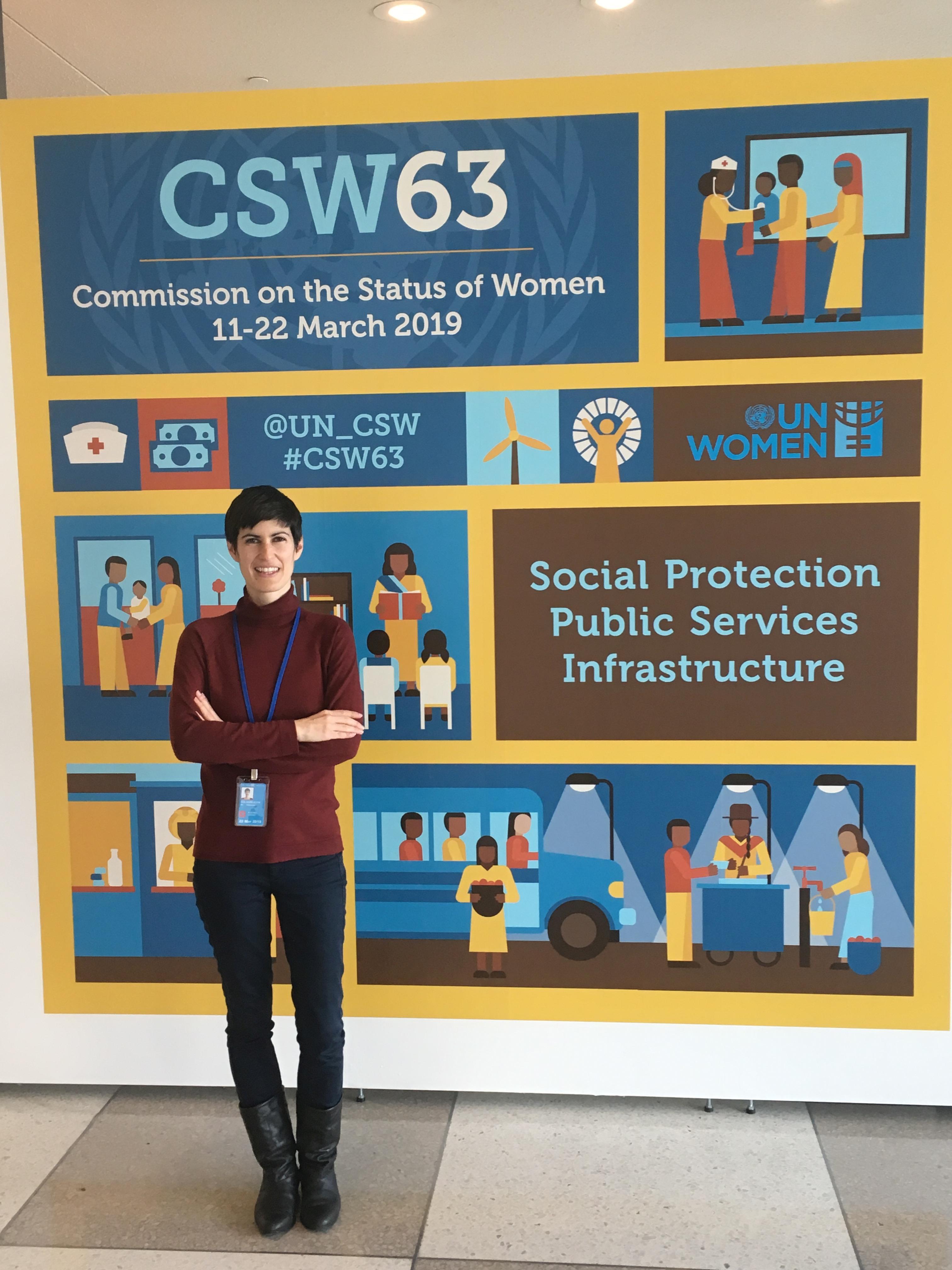 Aleksandra Kolodziejczyk bei der CSW63